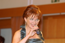 Odlična voditeljica dr. Zvonka Zupanič Slavec .
