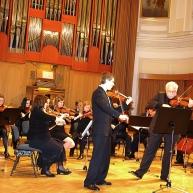Sledila je priredba našega dirigenta prof. F. Avseneka, NOCTURNE op. 9, št. 2, Fridericka Chopina. Kot solist se nam je pridružil že znan solist, diplomirani violinist in zdravnik, Andrej Gubenšek. Na violi se mu je pridružil dirigent prof. Avsenek.