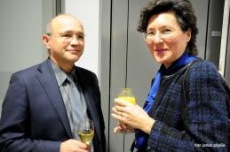 Koncerta se je udeležila tudi dr. Gordana Kalan Živčec.