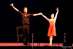 Z glasbo Piazzole sta koncert nadaljevala baletna solista SNG Opera in balet, Ana Klašnja in Lukas Zuschlag.