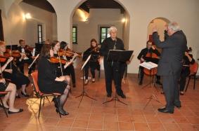 Jernej Podboj, znanec orkestra Camerata Medica.