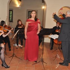Z nami je nastopila tudi mezzosopranistka Alja Koren.