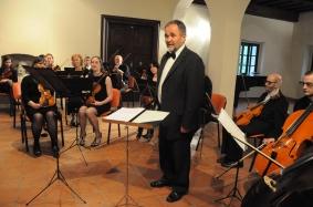 Nagovor pobudnika koncerta, dr. Košoroka.