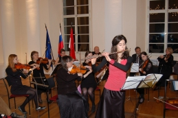 Anja Colja, študentka medicine, se je publiki predstavila s priredbo Bornove Carmen fantasie.