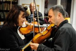 Uglaševanje; prva violina Vildana repše in dr. Košorok.