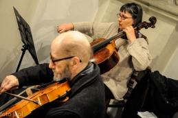 Vilim Demšar in violončelistka Jelka Demšar.