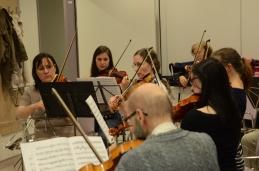 Še pogled z viol proti violinam.
