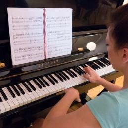 ... in pianistke Mateje!