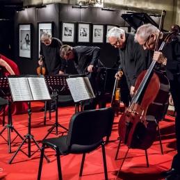 Ljubljanski godalni kvartet.