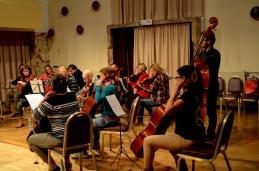 Orkester....