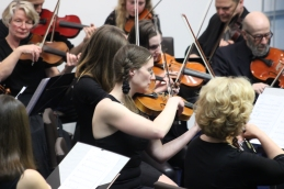 Del orkestra.