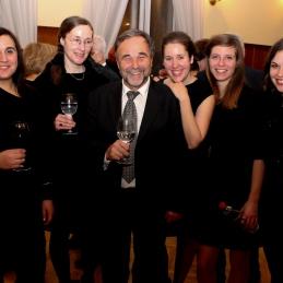 Violinist, dr. Košorok v odlični družbi!