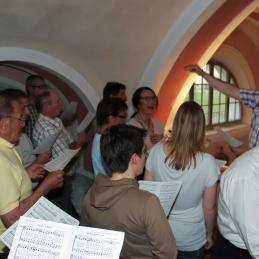 Cerkveni zbor.