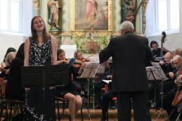 Z nami je nastopila tudi sopranistka Sanja Zupanič.