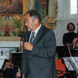 Govor slavljenca in pobudnika koncerta, dr. Košoroka...