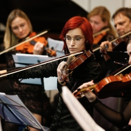 Teja in druge violine.
