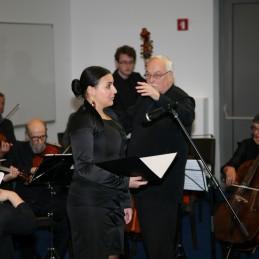 Z nami je s prekrasnim glasom nastopila tudi mezzosopranistka, Alja Koren, dr. med.