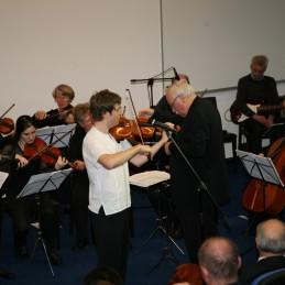 Andrej z orkestrom.