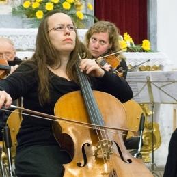 Soliska violončelistka Sanja Repše.