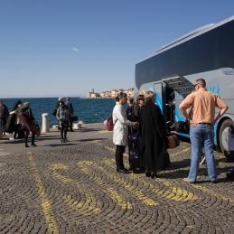 Prihod na obalo je bil čudovit! ...