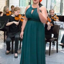 Veseli smo, da je z nami zopet nastopila tudi Alja Koren, s katero smo izvedli Habanero iz opere Karmen.