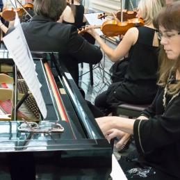 Sploh prvič pa smo skupaj zaigrali z zamejsko slovenko, pianistko in zdravnico Katjo Lavrenčič.