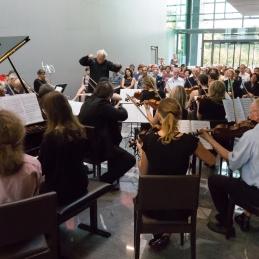Skupaj smo izvedli zahteven Mahlerjev klavirski kvartet.