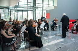 Koncert smo otvorili s Preludijem J.S. Bacha.