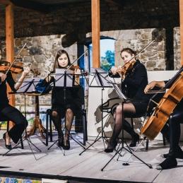 Čeprav smo navajene orkestra, je bilo tudi v kvartetu zelo lepo.